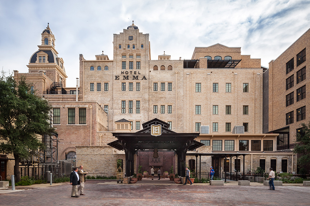 Hotel Emma | San Antonio, Texas, Three Living Architecture