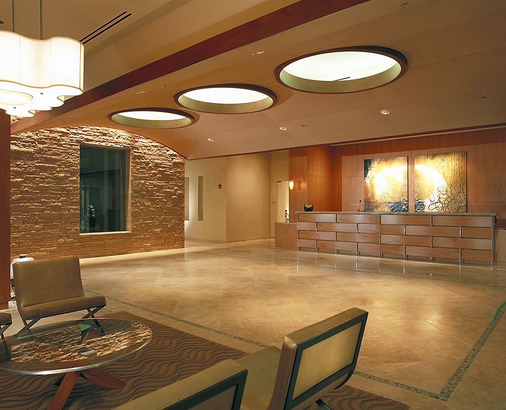Well & Being Spa at Fairmont Princess, Three Living Architecture