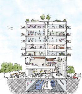 PRESS, Three Living Architecture